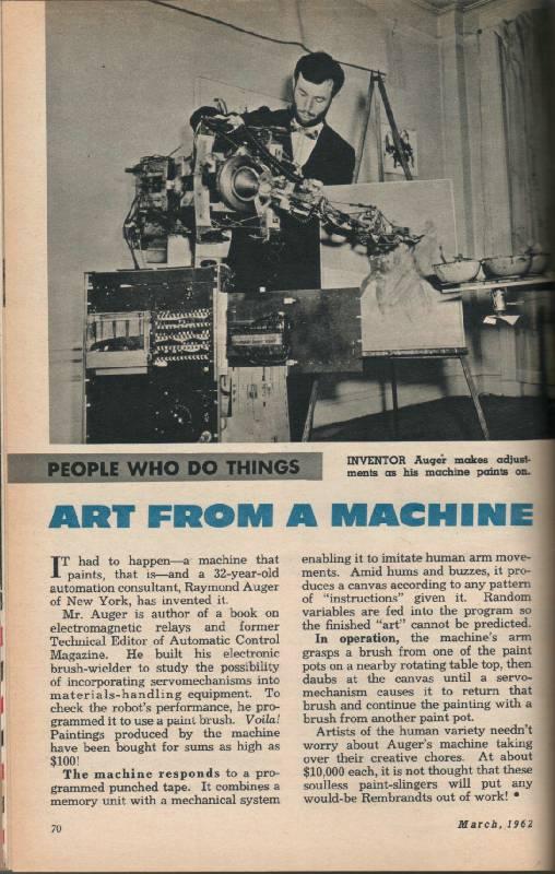 Los primeros robots de la histor